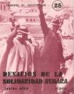 Desafíos de la solidaridad aymara. Cuadernos de Investigación, Nº 25