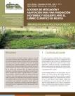 Acciones de mitigación y adaptación para una producción sostenible y resiliente ante el cambio climático en Bolivia